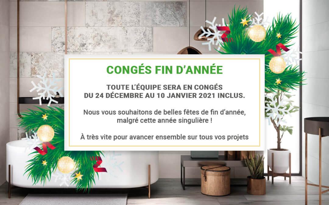 CONGÉS FIN D'ANNÉE
